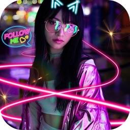 Super FX Neon Photo & Video
