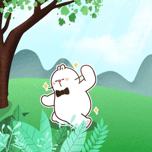 可爱白目兔