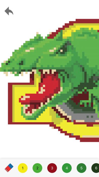 Pixelmania - 大人のための塗り絵のおすすめ画像1