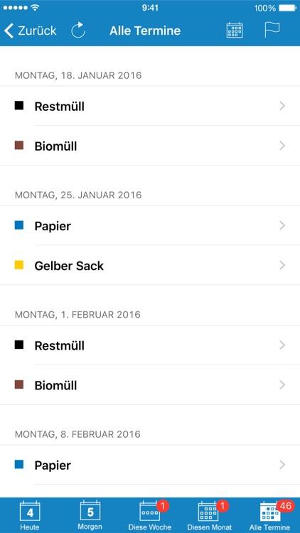 Abfall App VIVO Warngau