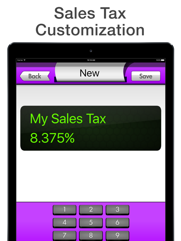 Sales Tax Calculator FREE Tax Me - Shopping Checkout, Coupon and Finance Helper screenshot
