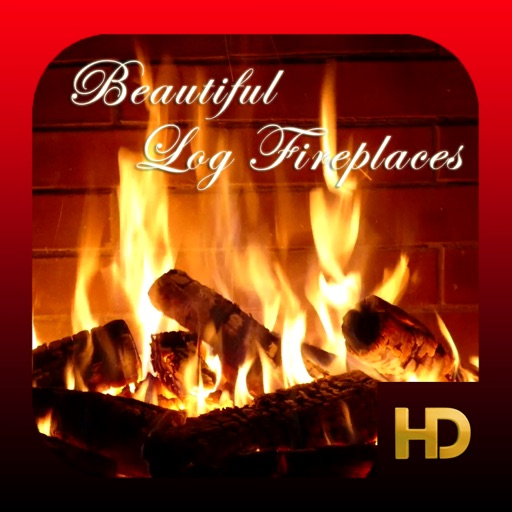 Beautiful Log Fireplaces HD