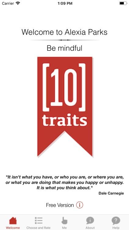 10 Traits Be Mindful