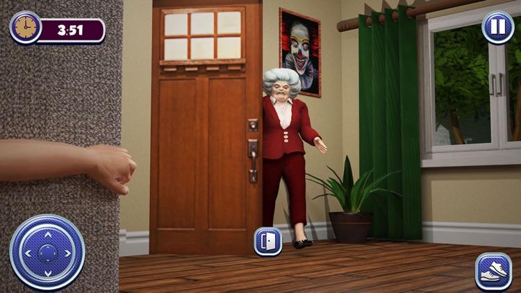 Haunted Teacher Scary 3D Games screenshot-4
