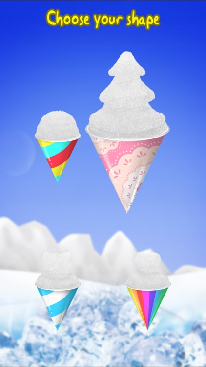 Snow Cone Maker -- Frozen Food screenshot-4