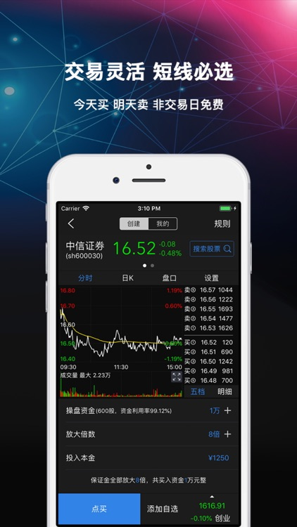 股票配资融-炒股、股票、放大资金 screenshot-3
