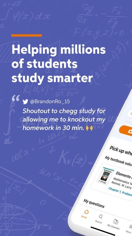 Chegg Study - Homework Help screenshot-6