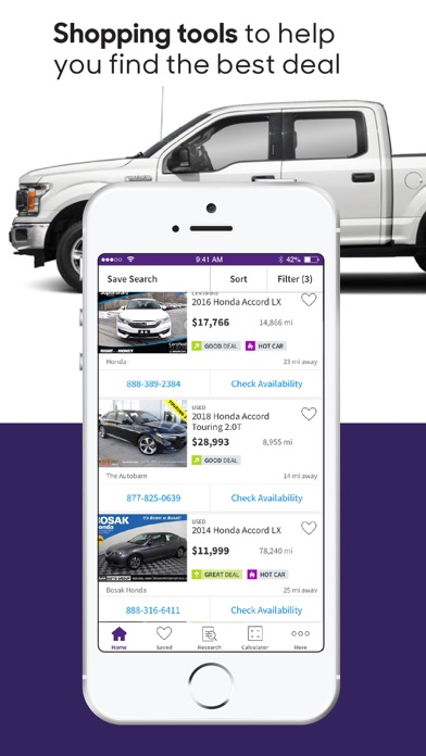 Screenshot for Cars.com - New & Used Cars in United States App Store