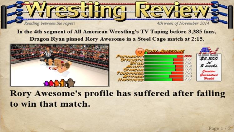 Wrestling Revolution 3D (Pro) screenshot-3