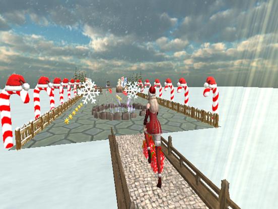 Christmas Santa Girl Run screenshot 3