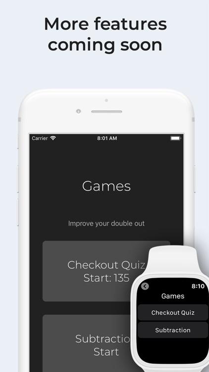 Darts Checkout on watch screenshot-6