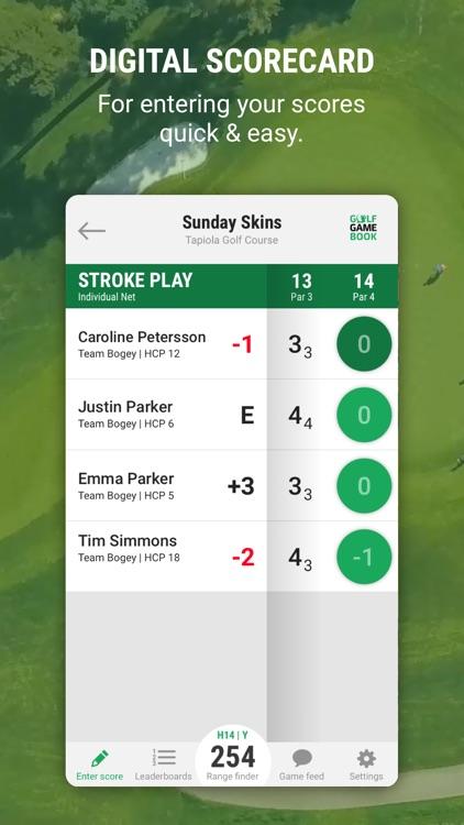 Golf GameBook Scorecard & GPS screenshot-0