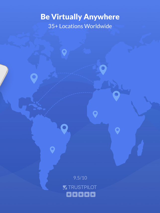 ‎SaferVPN: Safe & fast VPN Screenshot