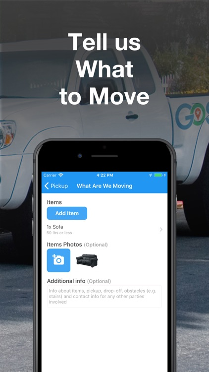 GoShare: Deliver, Move & Haul