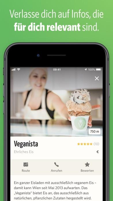 Screenshot for vanilla bean | vegan essen in Germany App Store