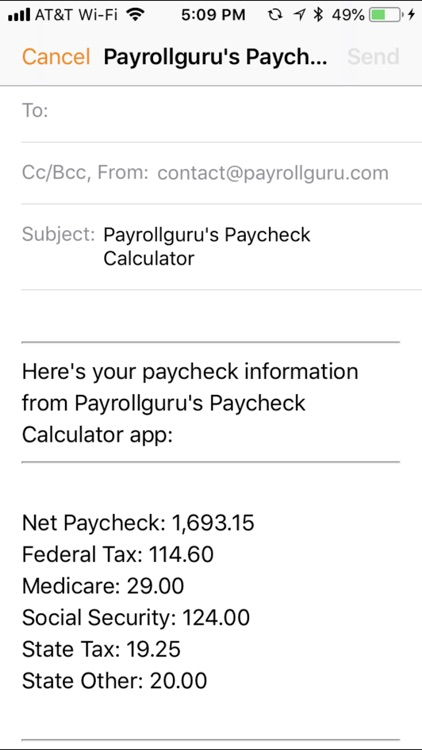 Paycheck Calc screenshot-3