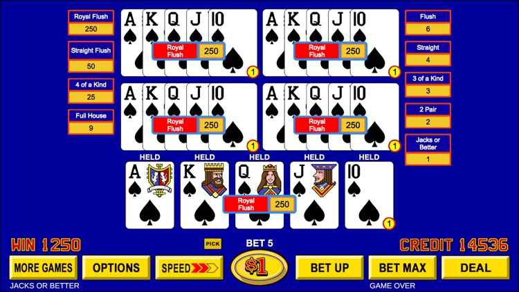 Video Poker - Classic Games screenshot-6