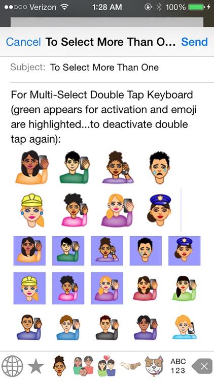 iDiversicons 1st Diverse Emoji screenshot-4