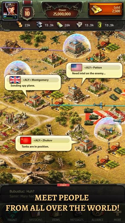 World at War: WW2 Strategy MMO screenshot-3