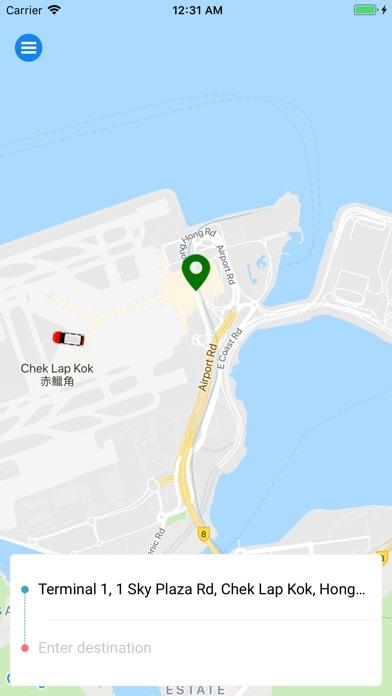 SuperCab - Taxi hailing app HK screenshot 1