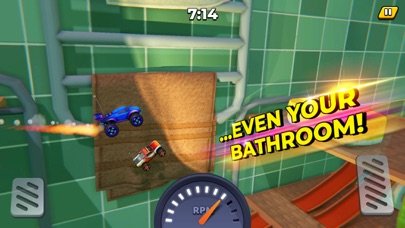 Toy Car climb racing - Vroomz Screenshot