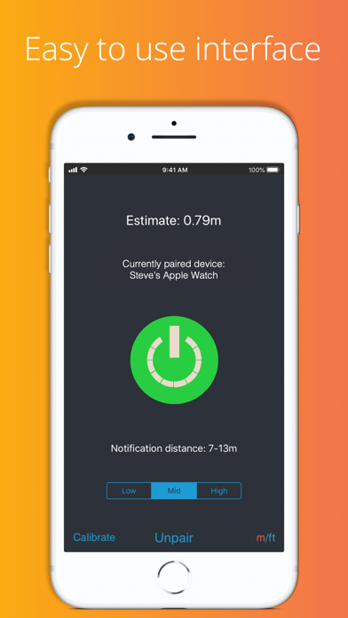Never lose your phone: WatchIt Screenshot 1