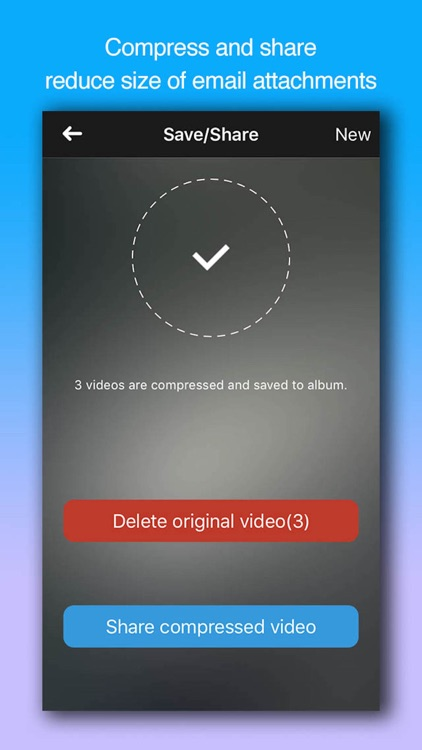 Video Compressor-Shrink videos screenshot-4