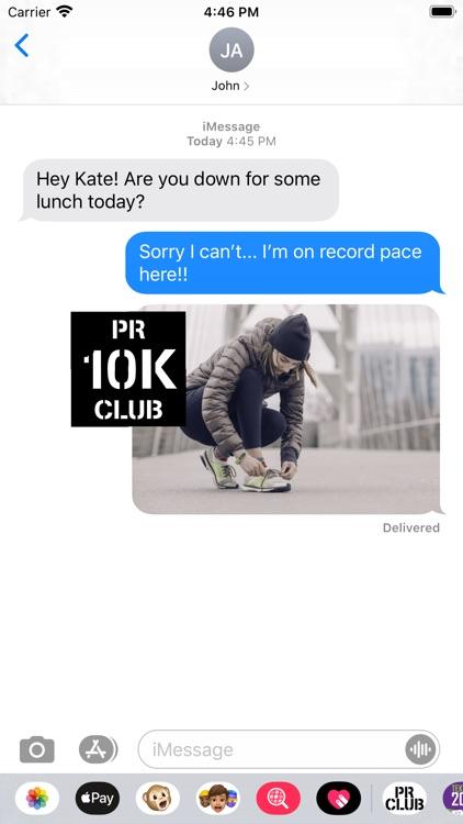 PR Club - Fitness Stickers