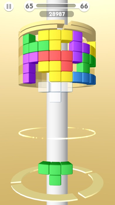 Music Helix Ball Screenshot on iOS