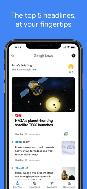 Google News on the App Store