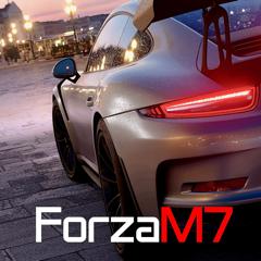 Sim Racing Dash for Forza M7