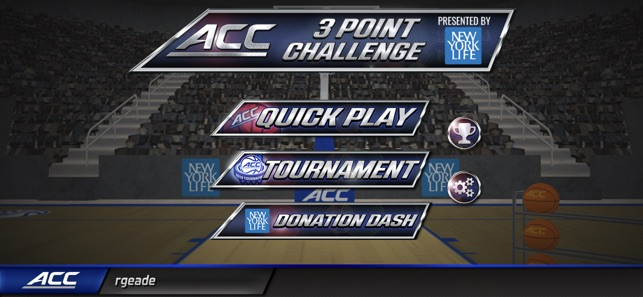 ACC 3 Point Challenge on the App Store