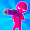 App Icon for Paintman 3D - Stickman shooter App in United States IOS App Store
