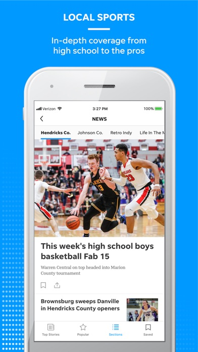 Screenshot for Detroit Free Press in United States App Store