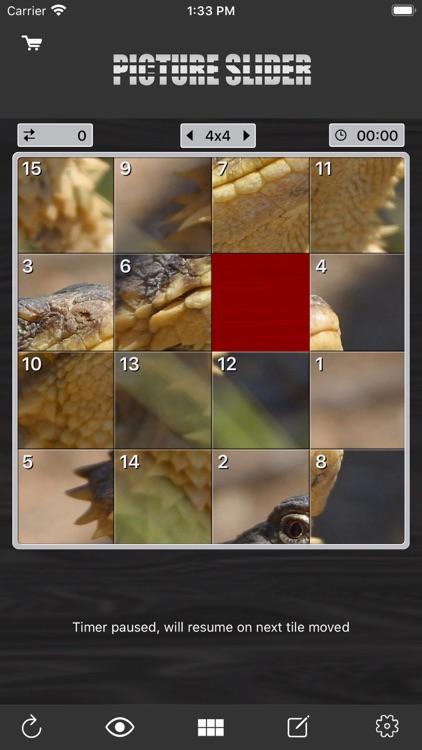 Picture Tile Slider screenshot-0