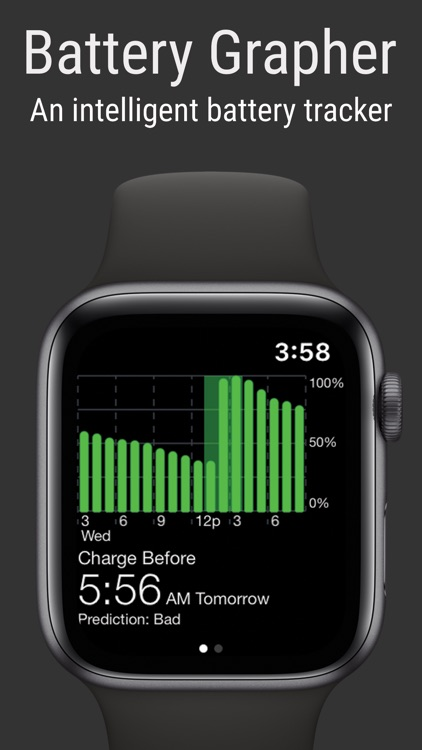 Battery Grapher for Watch