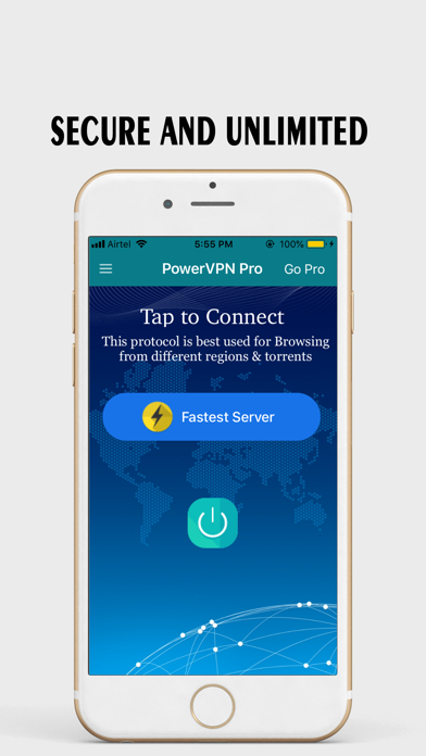 messages.download VPN : Power VPN Hub Anonyme software