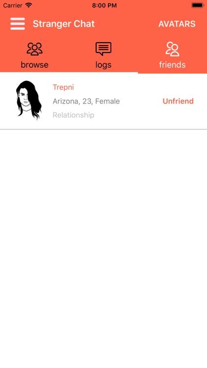 Stranger Chat - Anonymous Chat screenshot-3