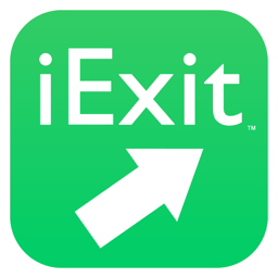 Ícone do app iExit Interstate Exit Guide