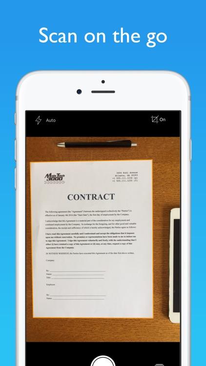 JotNot Scanner App Pro screenshot-0