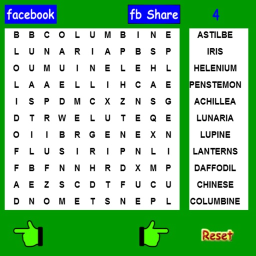 Garden Word Search