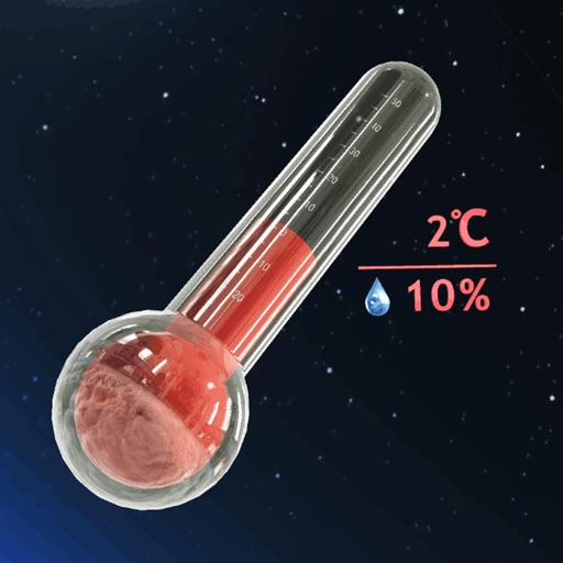 Real 3D Thermo Weather Tracker