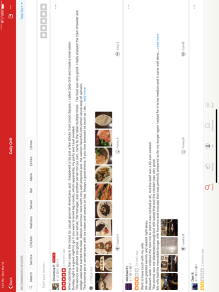 iPad Image of Yelp Food, Delivery & Services