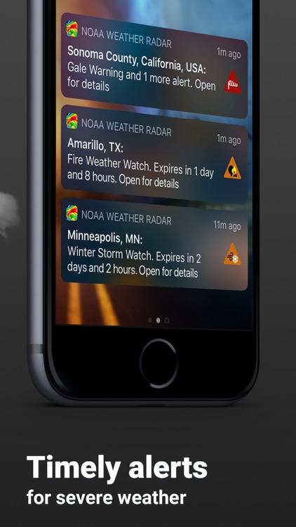 Clime: NOAA Weather Radar Live screenshot-4
