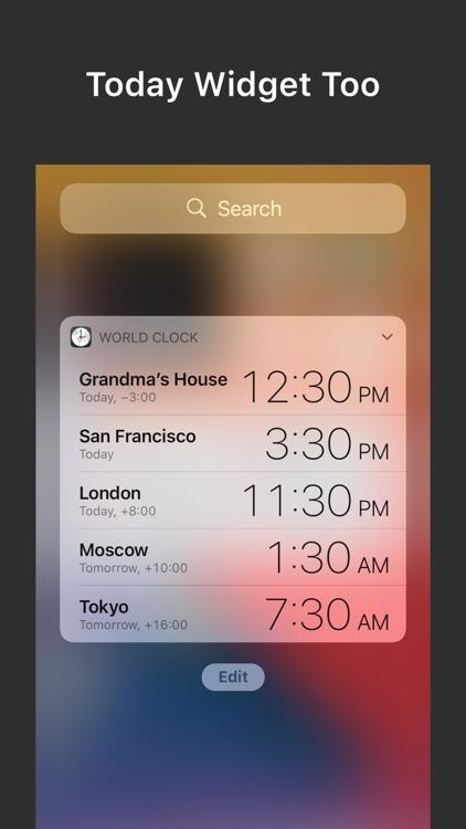 World Clock Widgets screenshot-6