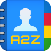 A2Z Contacts - Contact Manager, Edit Groups, Send Group Emails & Text Messages icon