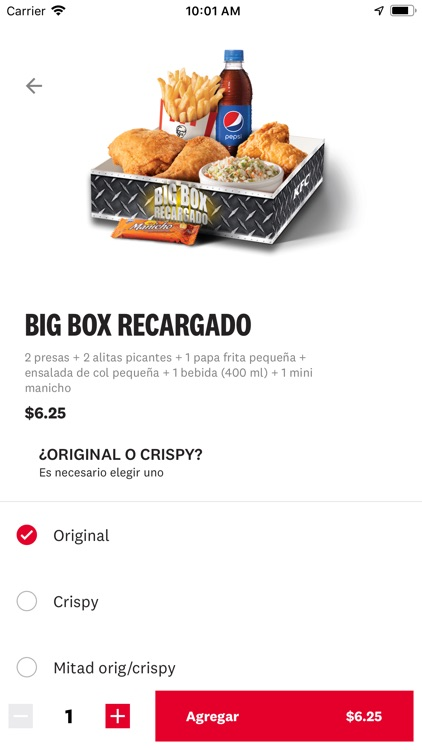 KFC APP (Ecu, Col, Chi, Arg) screenshot-5
