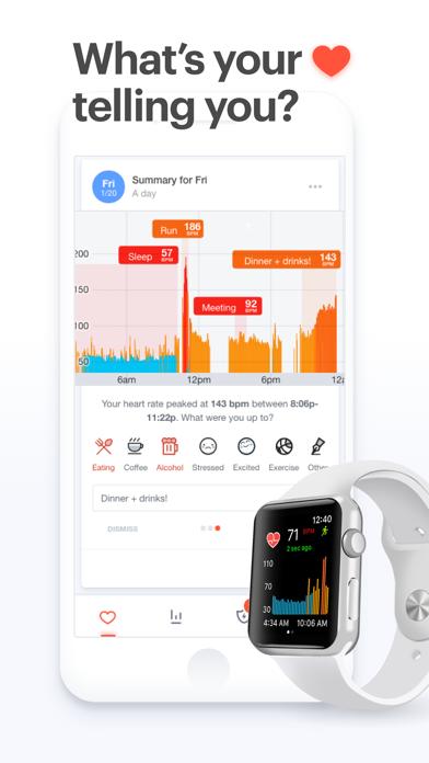 Cardiogram: Heart Rate Monitorのおすすめ画像1