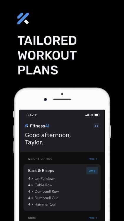 Strength Training – FitnessAI screenshot-5