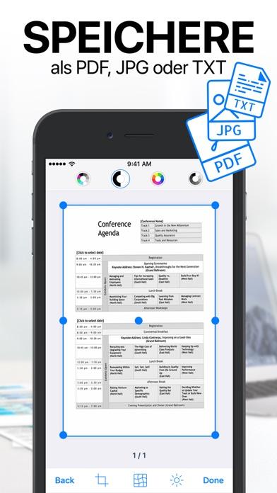 Screenshot for iScanner - Dokumenten Scanner. in Austria App Store